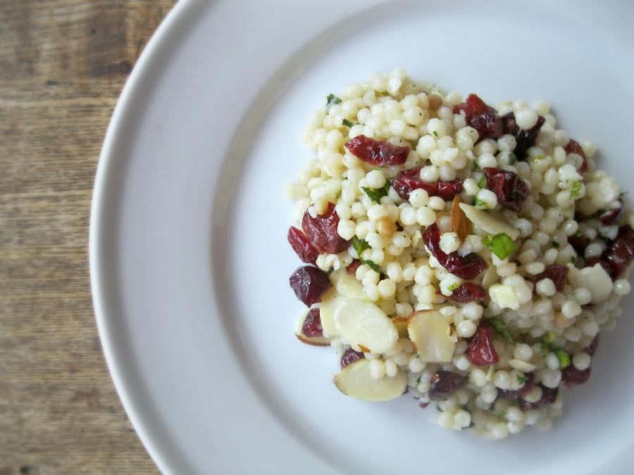 Cranberry Almond Couscous Salad